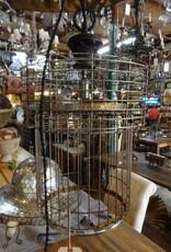 Wire Basket Chandelier