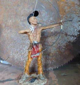 Indian Shooting Arrow Sculpture
