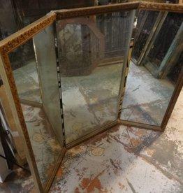3 Panel Ornate Mirror