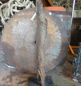 Mounted Cedar Driftwood Lamp