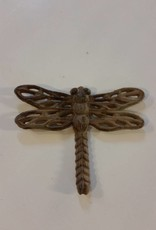 Large Iron Brown Dragonfly
