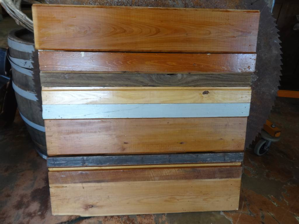 Salvaged Wood Art Panel B
