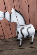 "Large Wild Tin Zebra 25"""