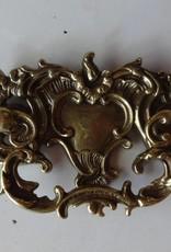 """Ornate Brass Drawer Pull 3""""x6"""""""