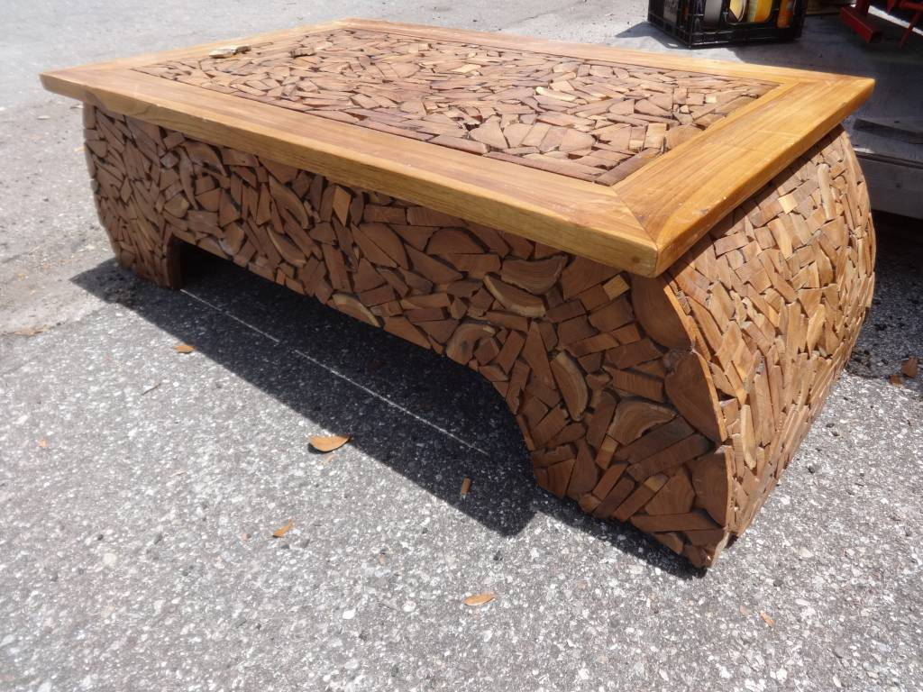 Chip Wood Coffee Table