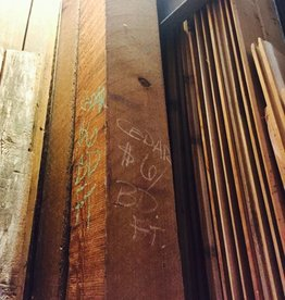 """Cedar Posts 6""""x6""""x8'"""