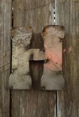 """5"""" Tin Letter H"""