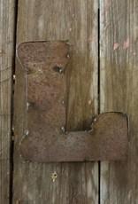 """5"""" Tin Letter L"""
