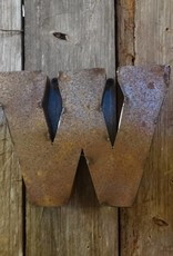 """5"""" Tin Letter W"""