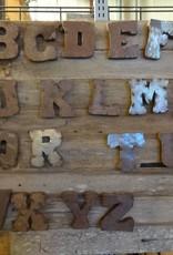"5"" Tin Letter X"