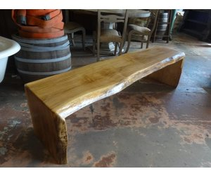 Miraculous Spalted Maple Live Edge Bench 17 5X67X17 Evergreenethics Interior Chair Design Evergreenethicsorg