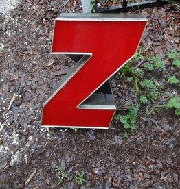 Channel Letter Z