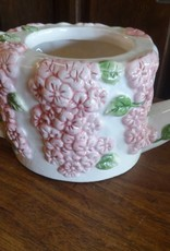 Floral Ceramic Watering Can