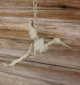 White Hanging Hummingbird