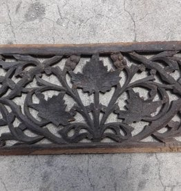 Teak Carved Panel E