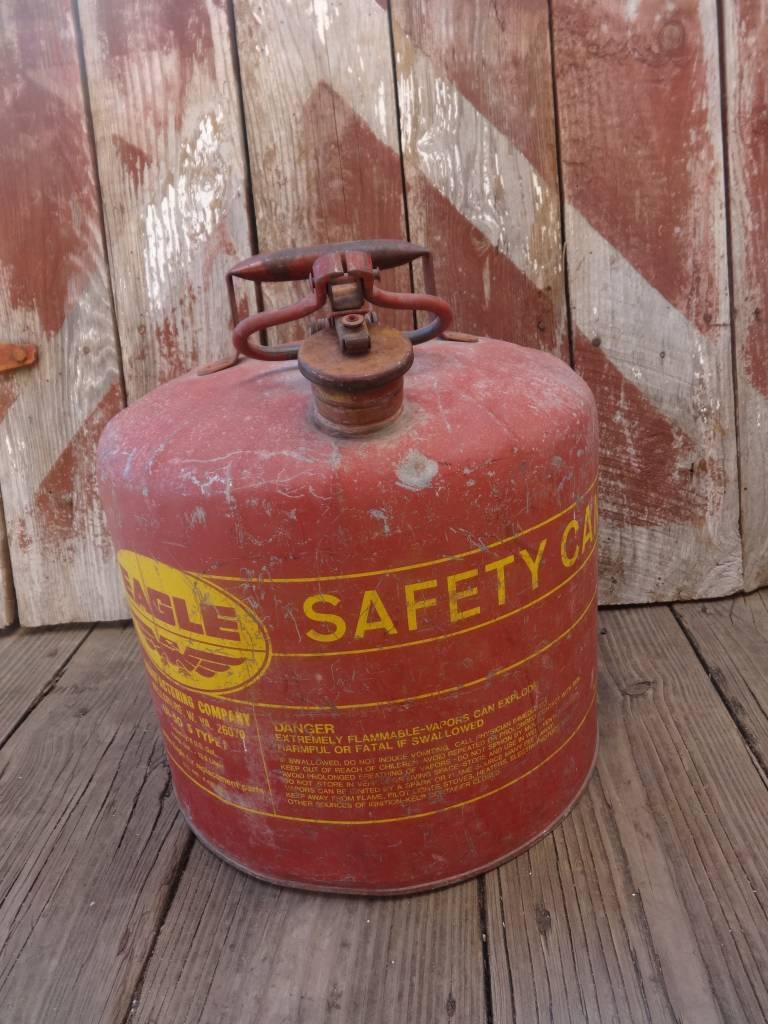 Lg Eagle Vintage Gas Can Red Sarasota Architectural