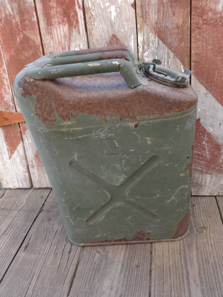 Vintage Military Gas Can