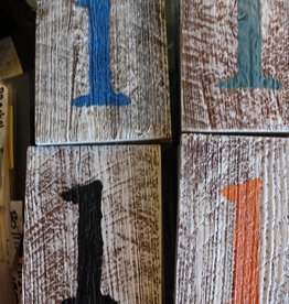 Reclaimed Wood Numbers