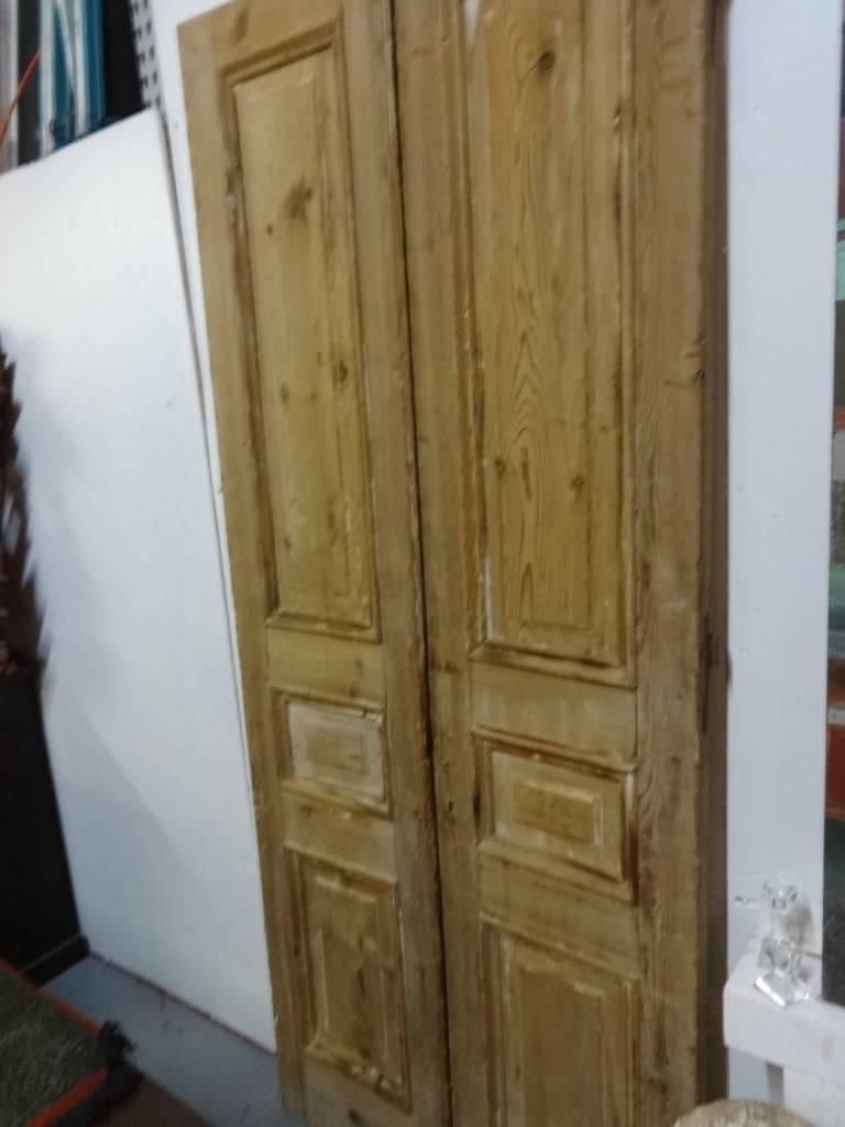 Egyptian Natural Wood Door SET