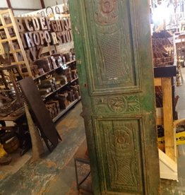 Egyptian Green Carved Door