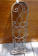 Egyptian Iron Rounded Top Panel 35x11