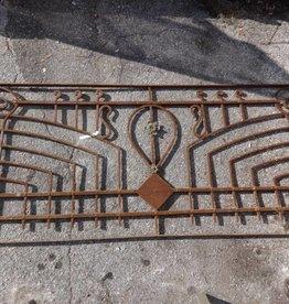 Egyptian Iron Gate Panel G 36x77