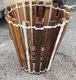 Large Teak Planter Basket