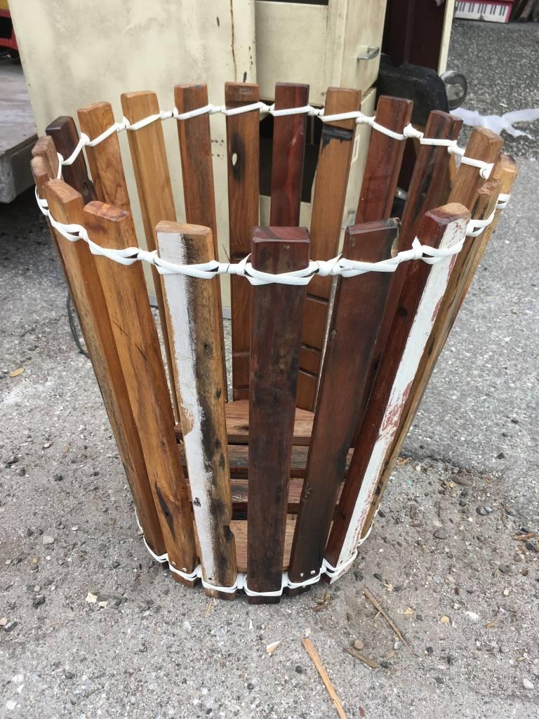 Large Teak Planter Basket Sarasota Architectural Salvage 1093 Central Ave Fl 34236