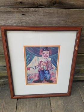 Clown Print  B