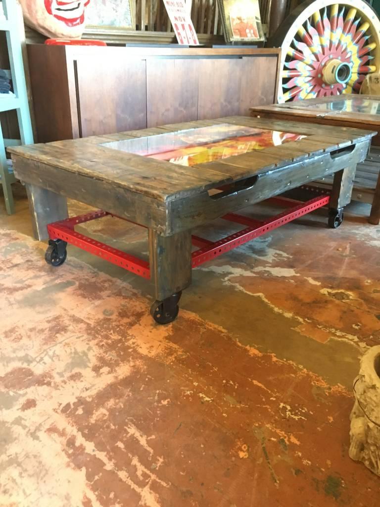 Fireman Reclaimed Coffee Table
