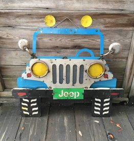 Jeep Tin Sign
