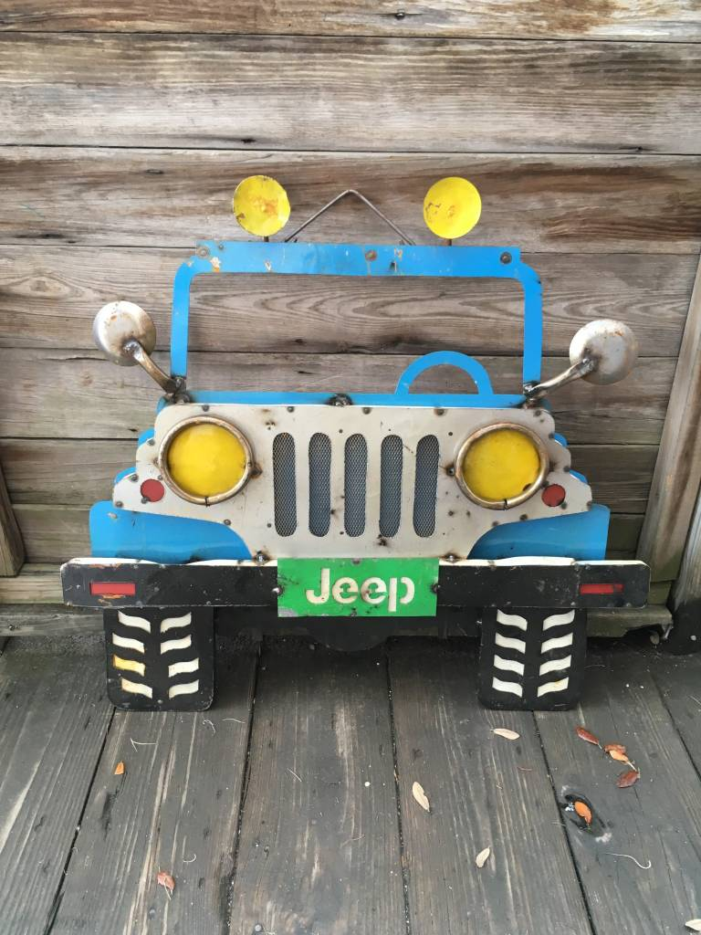 Jeep Tin Sign