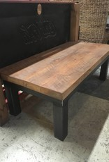 Iron and Oak Coffee Table