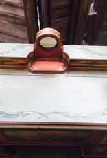 Ed Roos Hand Painted Cedar Dresser