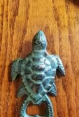 Vintage Green Turtle Bottle Opener