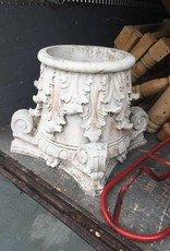Carved Stone Column Base