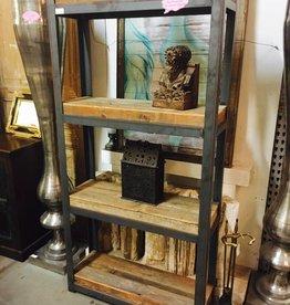 Reclaimed Cypress Iron Shelf