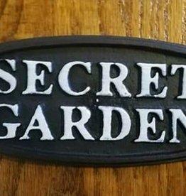 Secret Garden Plaque
