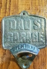 Dads Garage Wall Mount Bottle Opener