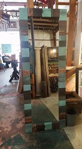 Copper Patch Mirror 2 28X76