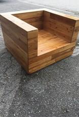 Cypress Cube Lounge Chair 25x37.5x35.5