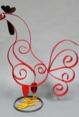 "Flat Iron Rooster 26""H x 8""D x 20.5""L"