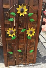 5 SunFlower Fence Trellis