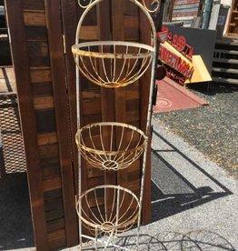 3 Round Basket Tower Planter