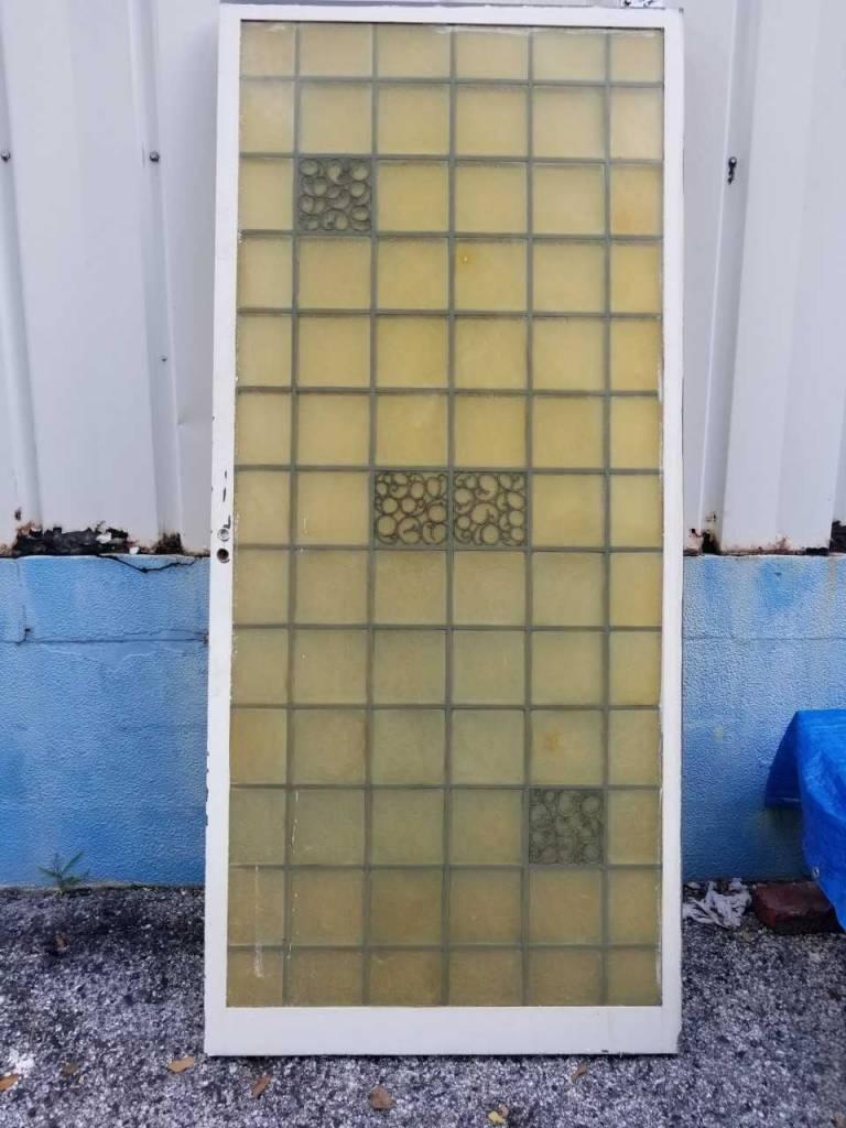 Fiberglass Pocket Door C 35 3/4 x 80