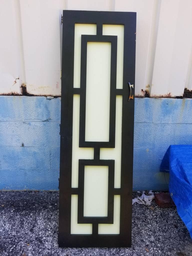 Asian Cabinet Door A 18.25x59