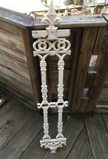 """Antique White Iron Finial Panel 9.5""""x50"""""""