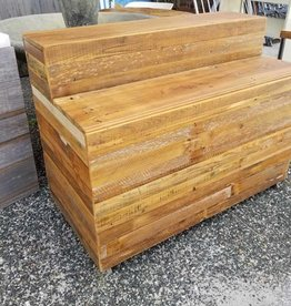 Reclaimed Cypress Display Shelf Cabinet