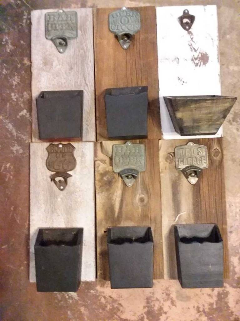 Rustic Wall Hanging Bottle opener