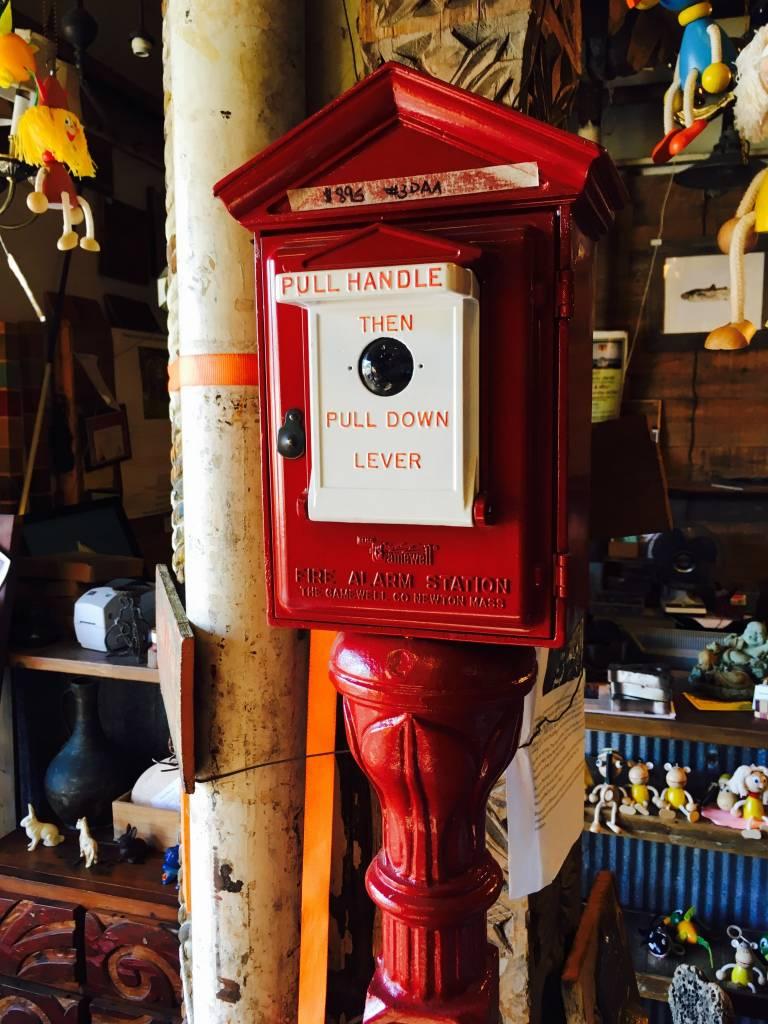 Gamewell Fire Box w/ Post